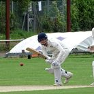 Jack Moore during his matchwinning innings for North Devon against Torquay