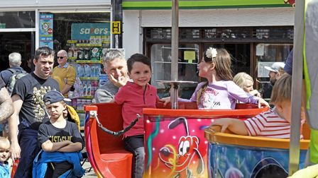 The fun day included six free rides at the event