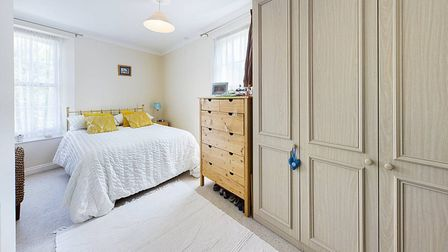 One of Lilac Cottage's two double bedrooms.