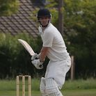 Ed Wharton of Reed Cricket Club starred with bat and ball against Harpenden