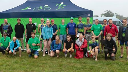 WaldenTRI athletes were out in force at the Bedford Team Relays.