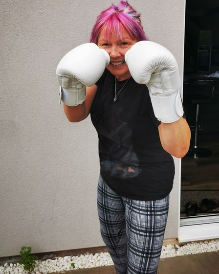 Barb has recently joined boxing classes in Royston