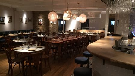 Tabure won the Best Restaurant category in the Muddy Stiletto Awards.