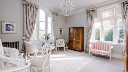 The house has been sensitively decorated throughout