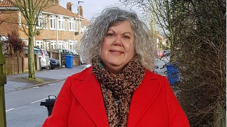 Maxine Webb, Labour county councillor for Norwich's Wensum ward.