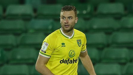 Ben Gibson of Norwich in action during the Sky Bet Championship match at Carrow Road, NorwichPictu