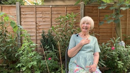 74-year-old Hackney fundraiser and daredevilElaine Manna is doing a wing walk for an Islington eye charity.