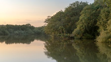 The 10-acre Balcombe Lakeis a tranquil spot for a walk