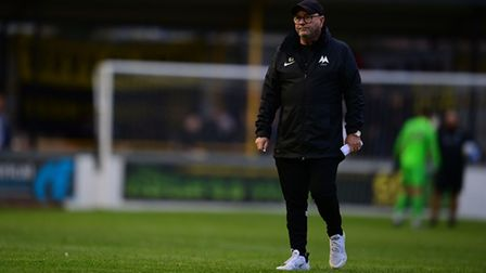 Gary Johnson Manager of Torquay United during the pre-season friendly match between Tiverton Town an