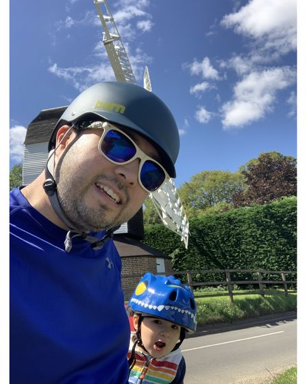 Danny Loo will be doing the London to Brighton cycle challenge in September in aid of The Willow Foundation