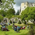 Troubadour's staging of Twelfth Night at Old Wardour House in Wiltshire, 2020