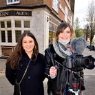 Isotta Reichenbach and Ellie O'Donnell founders of theirstoryfilms.co.uk