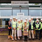Stevenage bus interchange topping out ceremony
