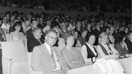 New Odeon cinema opening at Norwich. Picture: 8th July 1971