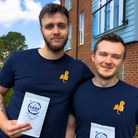 Damon de Rees and Kai Walding are the owners of Kaida Coffee, which has launched in Norwich.