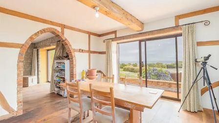 Beams, arches and sea views, what more could you want in a property?