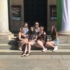 East Coast College students on a previous trip to Italy.