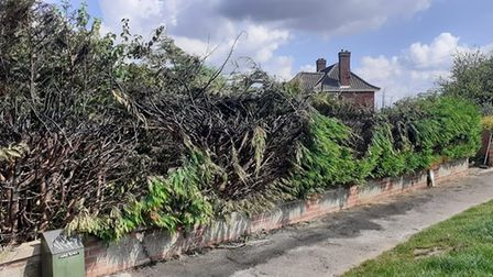 fire damage of sprowston arson
