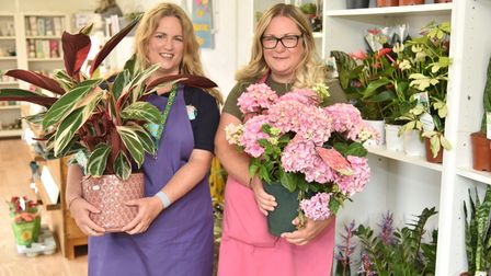 Sisters Sarah Turcu and Lisa Bolingbroke inside The Watering Can at its new home in Sprowston.