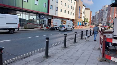 UK Power Network vans have been spotted near Duke Street and are believed to be carrying out works to fix the problem