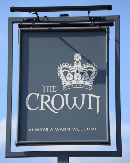 The Crown at Costessey. Picture: DENISE BRADLEY