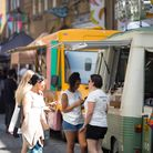 EDITORIAL USE ONLYKERB street food market at Festival 30 at Seven Dials in London, a free one-day