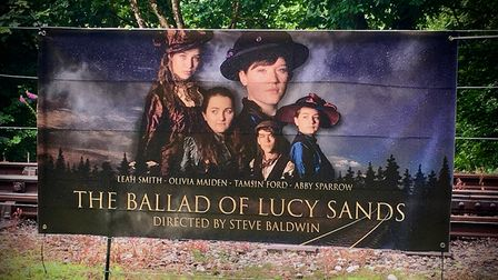 Poster o The Ballad of Lucy Sands tells the story of a grisly Victorian murder