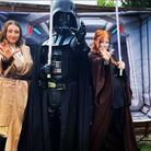 Darth Vader will be at the 'Very Merry Un-Birthday Celebration' in Ipswich