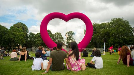 Loveart by The Dream Engine is coming to Stevenage town centre.
