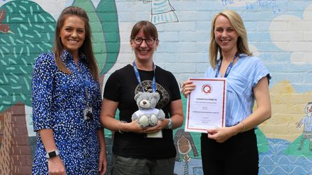 The Early Years team at Our Lady Catholic Primary School has received a bronze award in theEarly Years Quality Standards