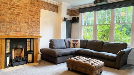 """After: """"We tookthe walls back to brick and repointed,"""" Karen says."""