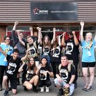 NCS group raise money for the homeless by doing a hike Picture: CHARLOTTE BOND