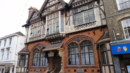 The Beaney House of Art and Knowledge in Canterbury, Kent