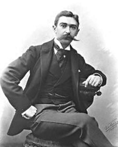 Pierre de Coubertin - the founder of the modern Olympics.