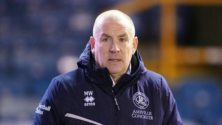 File photo dated 08-12-2020 of Queens Park Rangers manager Mark Warburton at the start of the second