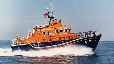 The all-weather lifeboat Alec and Christina Dykes.