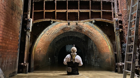 Inside the Northern Outfall Sewer at Wick Lane