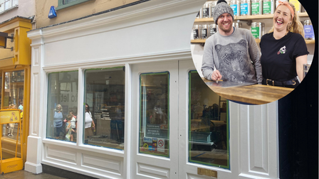 Mike Turner and Krisi Smith, founders of Bird & Blend, are opening a new store in Norwich
