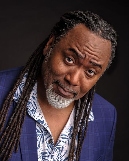 Reginald D Hunter will appear at theJust The Tonic ComedyShindig in Hertfordshire.