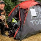 James, from Staffordshire, has been at Camp Beagle for several weeks now.