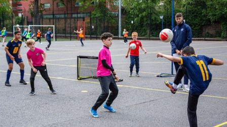 The London Futsal Stars Foundation hosted a 3-a-side league this summer
