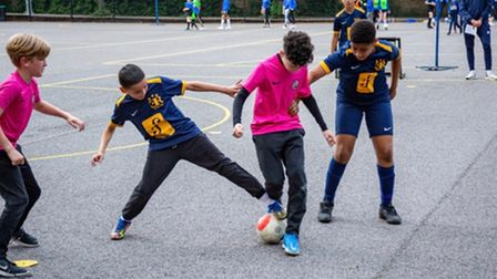 The Futsal Stars Foundation hosted a 3-a-side league this summer