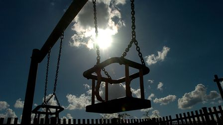 Generic pictures of swings, play ground, play area. Photo: Simon Finlay Copy: For: EDP news EDP