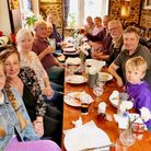 Colyford and District Photographic Club meetat The White Hart in Colyford