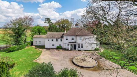 Period property Rushmere Lodge has a guide price of £1.5million