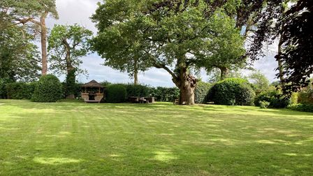 Rushmere Lodge has more than five acres of grounds