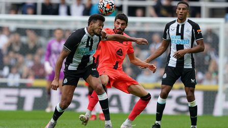 Pierre Lees-Melou had Norwich City's best chance in a 3-0 friendly defeat at Newcastle United
