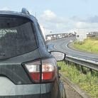The Orwell Bridge is closed in both directions