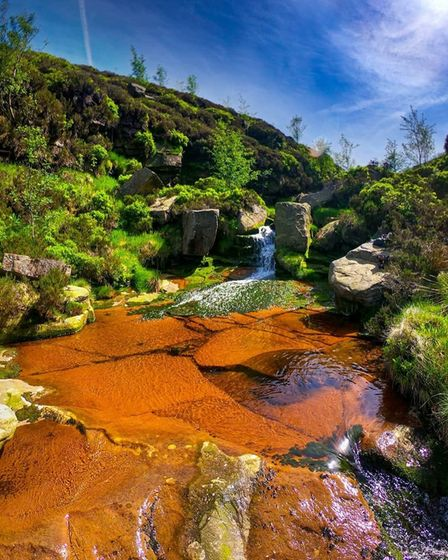 Watering hole near Middle Black Clough