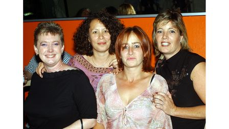 A night out in Betty Ford's in Ipswich in 2003